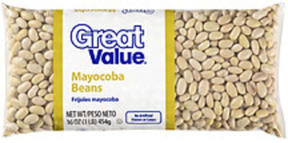 Great Value Mayocoba Beans - 16 oz