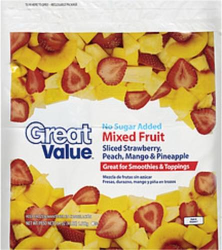 Great Value Mixed Fruit - 64 oz