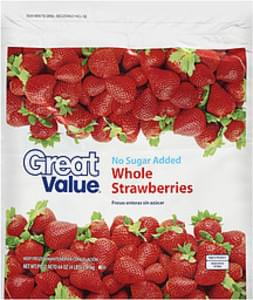 Great Value Strawberries Whole