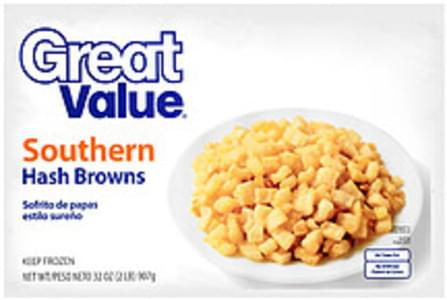 Great Value Hash Browns Southern