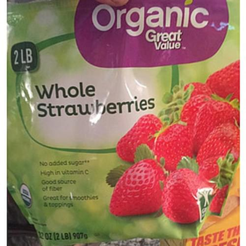 Great Value Whole Strawberries - 140 g