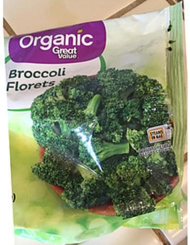 Great Value Broccoli Florets - 78 g