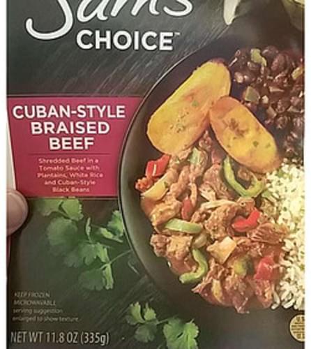 Sam's Choice Braised Beef. Cuban-Style - 335 g