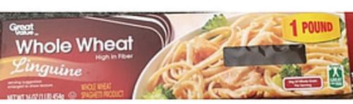 Great Value Linguine Whole Wheat Pasta - 56 g
