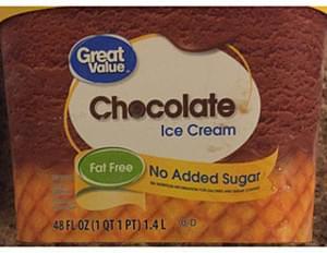 Great Value Chocolate Ice Cream