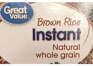 Great Value Instant Brown Rice