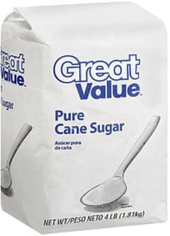 Great Value Cane Sugar Pure