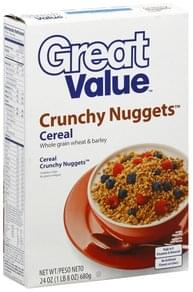 Great Value Cereal Crunchy Nuggets