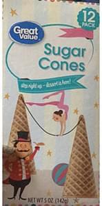 Great Value Sugar Cones