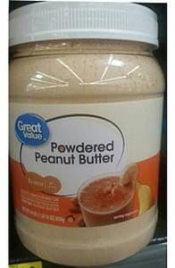 Great Value Powdered Peanut Butter