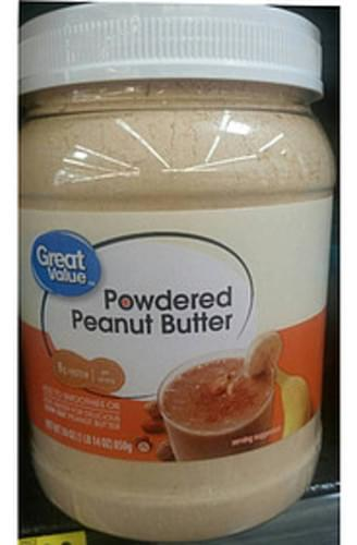 Great Value Powdered Peanut Butter - 12 g