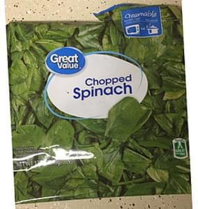 Great Value Chopped Spinach