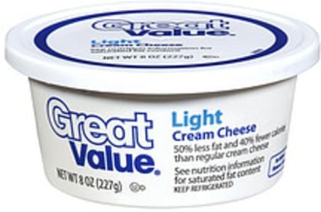 Great Value Cream Cheese Spread Light