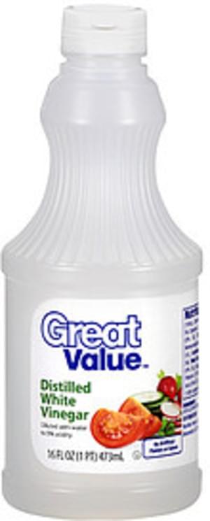 Great Value Distilled White Vinegar - 16