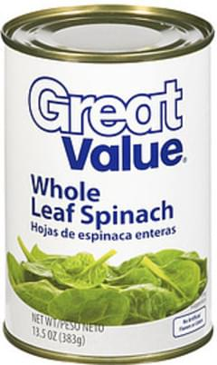 Great Value Spinach Leaf
