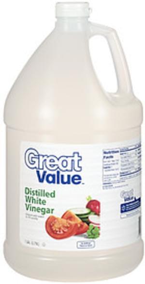 Great Value Distilled White Vinegar - 1