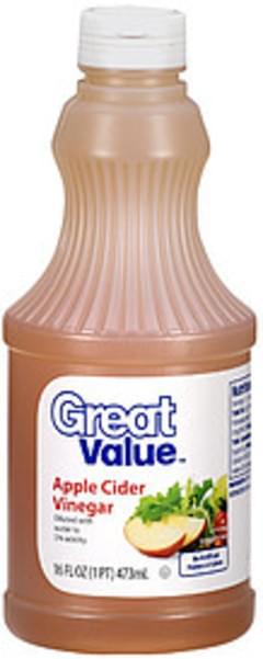 Great Value Vinegar Apple Cider