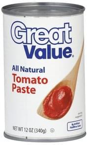 Great Value Tomato Paste