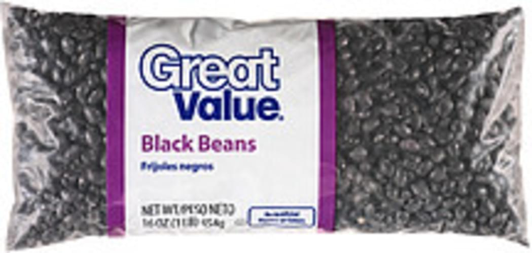 Great Value Black Beans - 16 oz