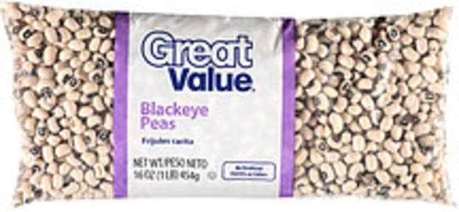 Great Value Peas Blackeye