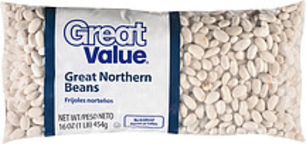 Great Value Great Northern Beans - 16 oz