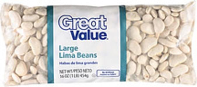 Great Value Beans Large Lima