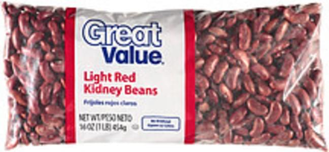 Great Value Beans Light Red Kidney