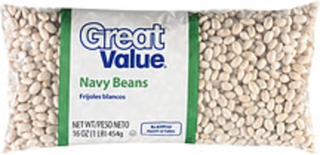 Great Value Navy Beans - 16 oz