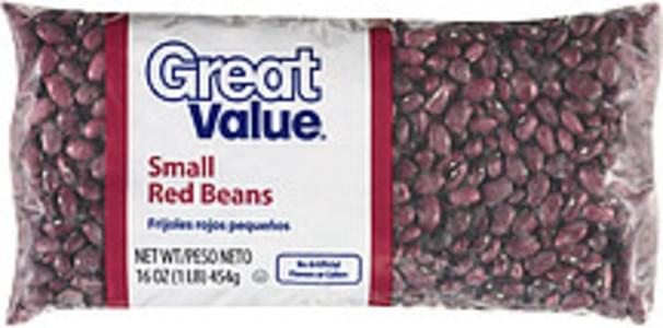 Great Value Beans Small Red