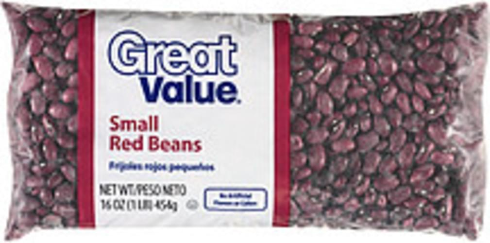 Great Value Small Red Beans - 16 oz
