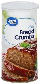 Great Value Bread Crumbs Plain