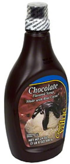 Great Value Syrup Chocolate Flavored