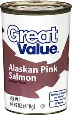 Great Value Salmon Alaskan Pink