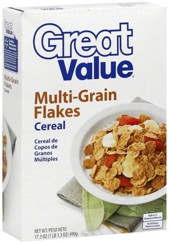 Great Value Cereal - 17.3 oz