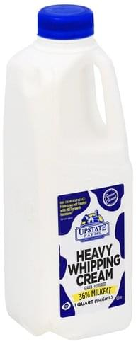 Upstate Farms Heavy Whipping Cream - 1 QT