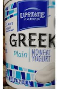 Upstate Farms Greek Nonfat Yogurt Plain