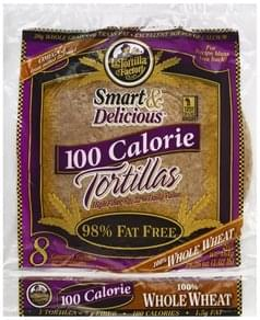 La Tortilla Factory Tortillas Gourmet, 100 Calorie, 100% Whole Wheat