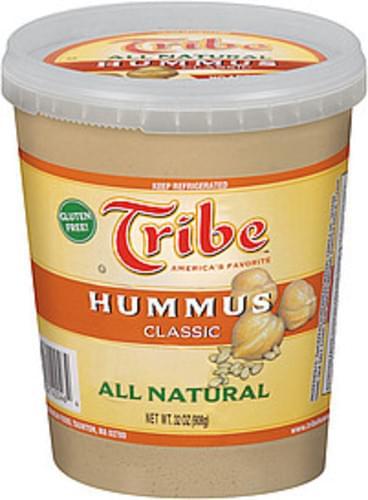 Tribe All Natural Classic Hummus - 32 oz