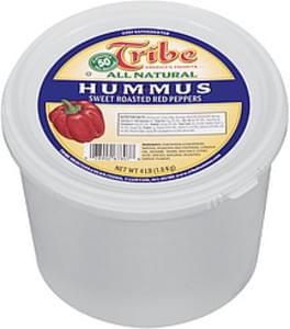 Tribe Hummus All Natural Sweet Roasted Red Peppers