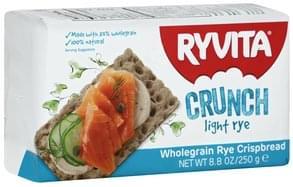 Ryvita Crispbread Wholegrain, Light Rye