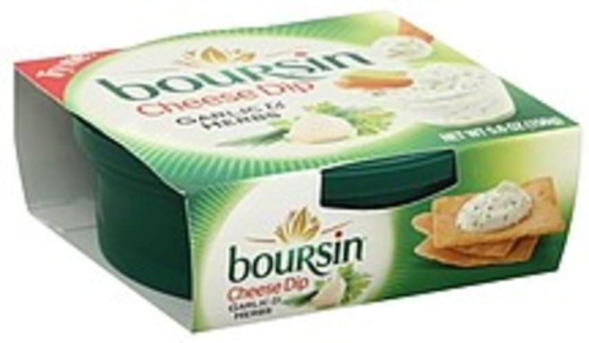 Boursin Garlic & Herbs Cheese Dip - 5.6
