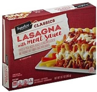 Signature Select Lasagna with Meat Sauce