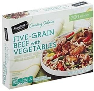 Signature Select Five-Grain Beef with Vegetables