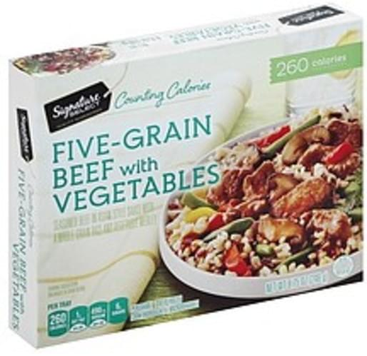Signature Select Five-Grain Beef with Vegetables - 8.75 oz