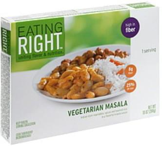 Eating Right Vegetarian Masala