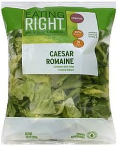 Eating Right Caesar Romaine