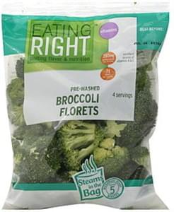 Eating Right Broccoli Florets Pre-Washed