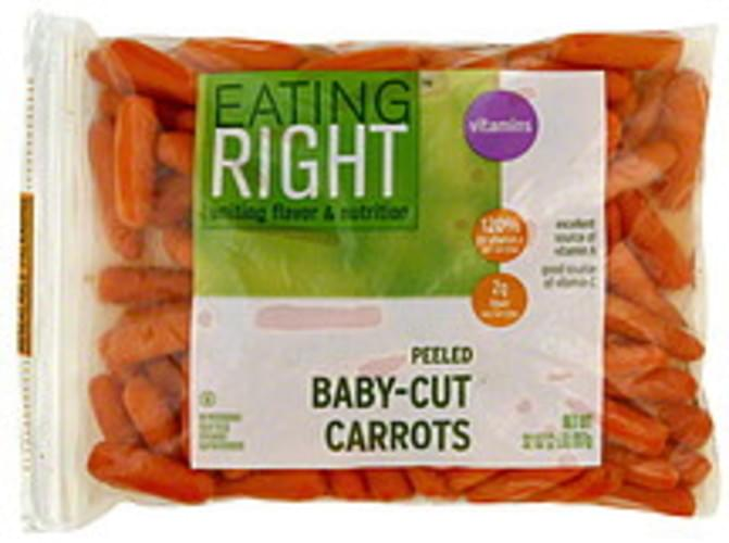 Eating Right Peeled Baby-Cut Carrots - 32 oz