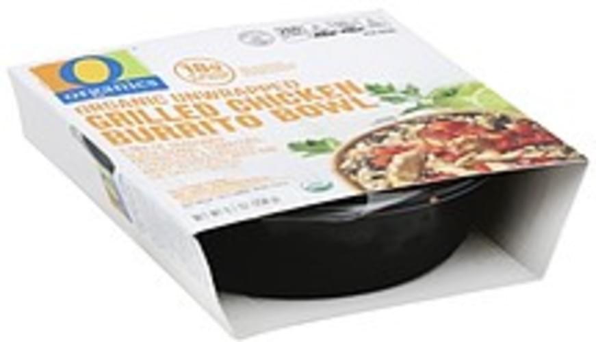O Organics Organic, Grilled chicken Burrito Bowl - 9.1 oz