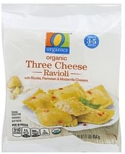 O Organics Ravioli Organic, Three Cheese